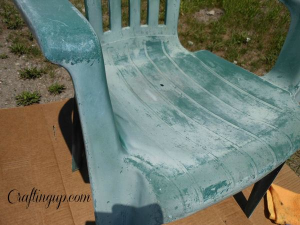 Reclaiming Faded Plastic Patio Furniture Crafting Up