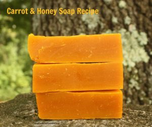 Carrot and Honey Soap Recipe