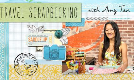 Travel Inspired Scrapbooking