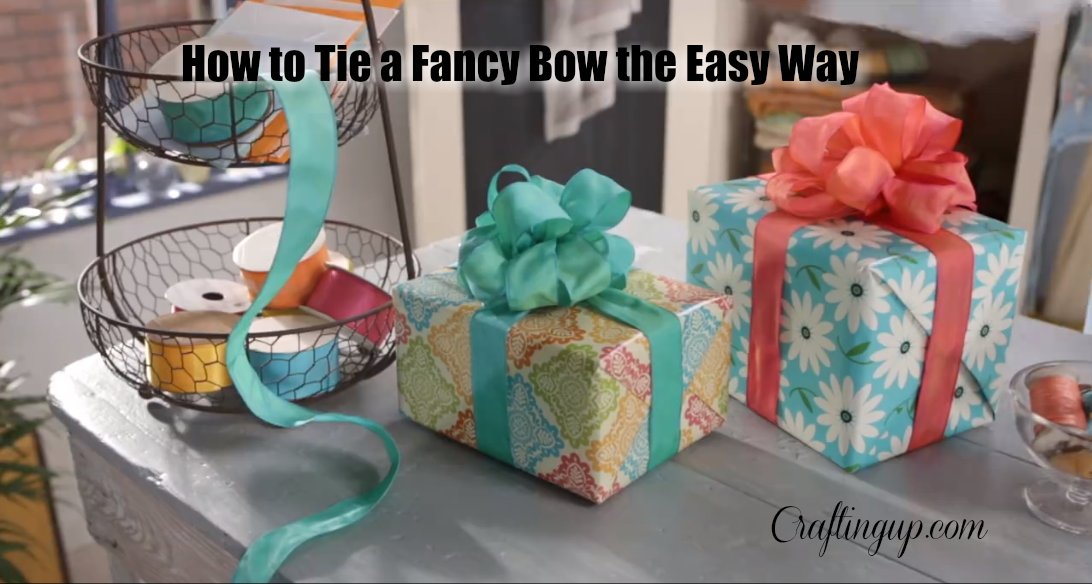 How to Tie a Fancy Bow